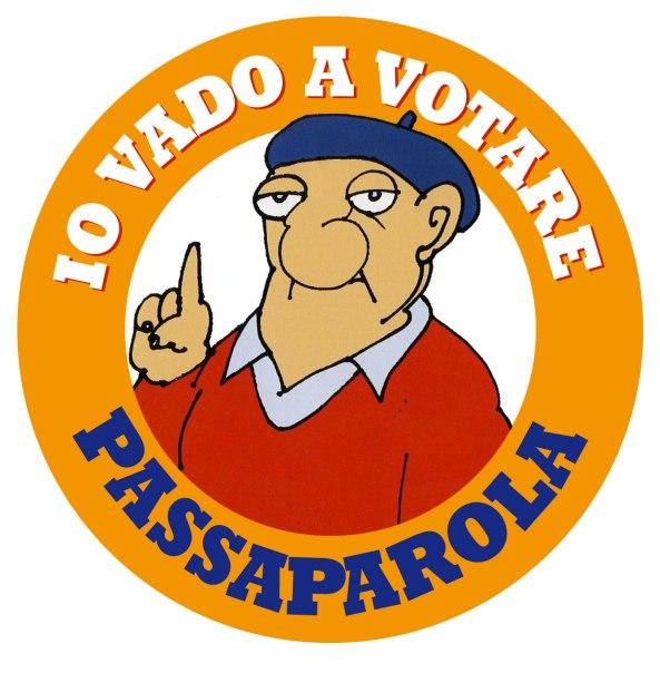 IO VADO A VOTARE - PASSAPAROLA